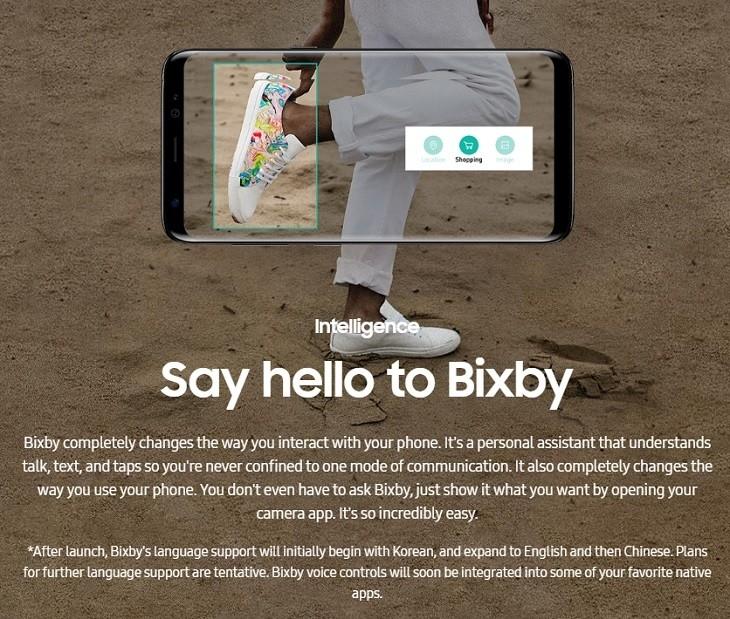 Samsung S8 S8+  bixby