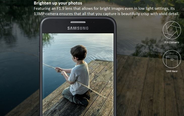 Samsung Galaxy J7 Prime 5.5-Inch (3GB, 16GB ROM) Android 6.0 ...