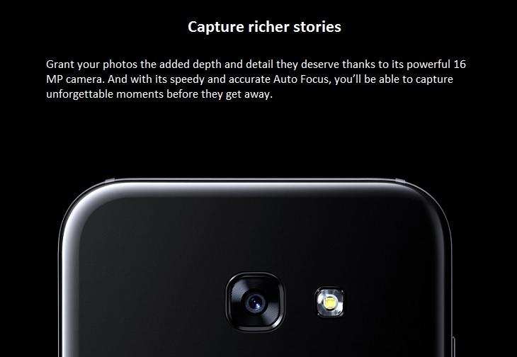 Samsung Galaxy A5 (2017)  16MP Camera