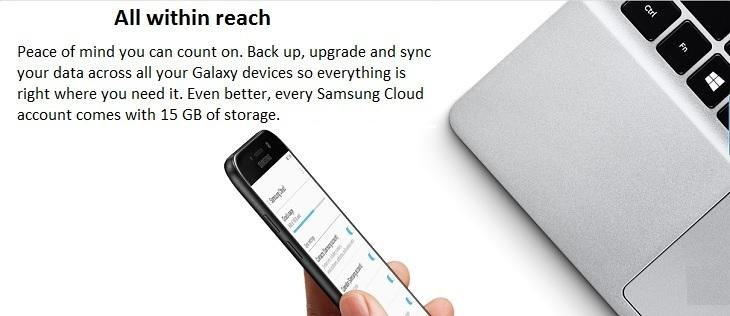 Samsung Galaxy A5 (2017) 15gb cloud storage