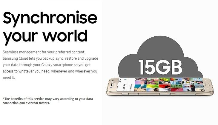 Samsung Galaxy J7 Pro cloud storage device affordable