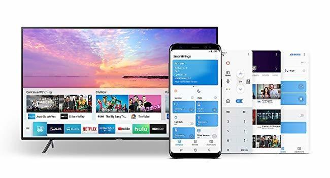 SmartThings App*, Samsung NU7120