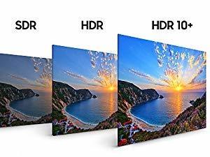 Samsung NU7120, HDR 10