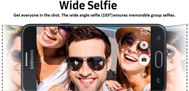 Samsung Galaxy J7 Prime on Jumia wide selfies