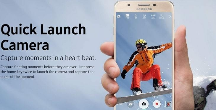 Samsung Galaxy J7 Prime on Jumia - Quick launch