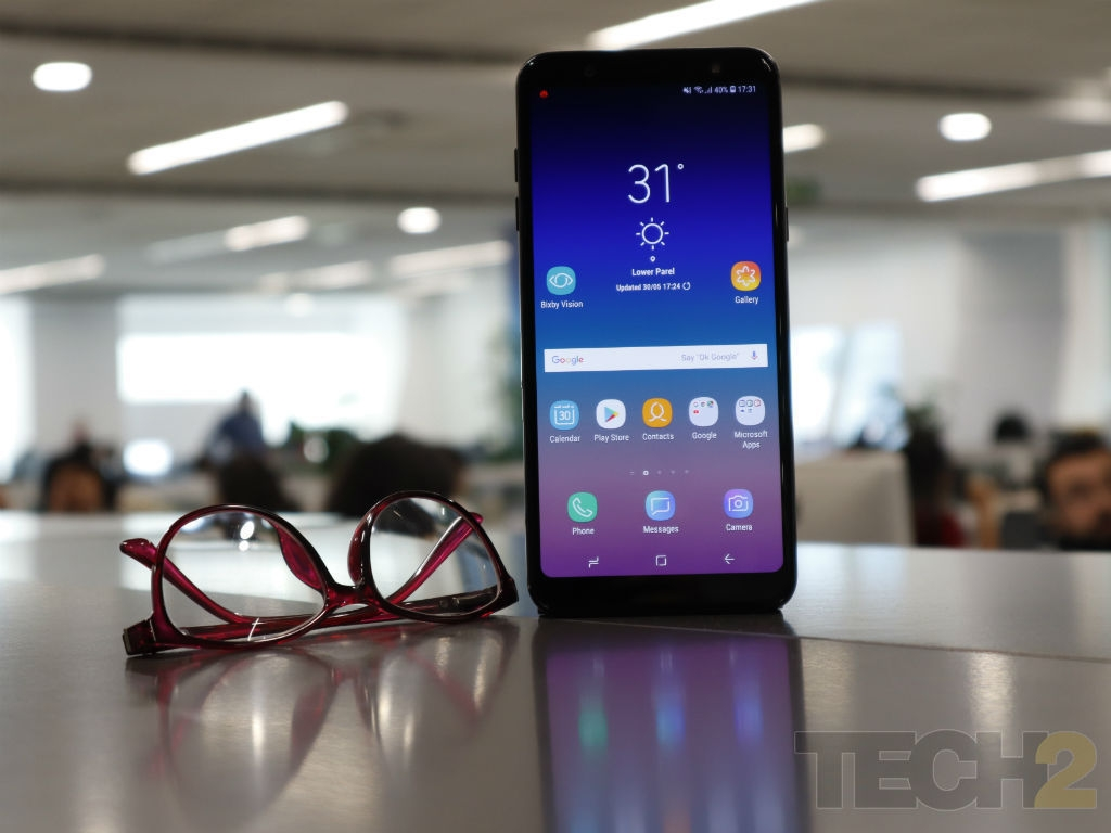 Samsung Galaxy A6 Plus Review: Overpriced, but display and battery life rock!