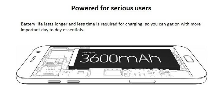 Samsung Galaxy A7 (2017) 3600mah battery samsung galaxy a720 Samsung Galaxy A720 2017 31551741adca917545bb1b1f45a1630c