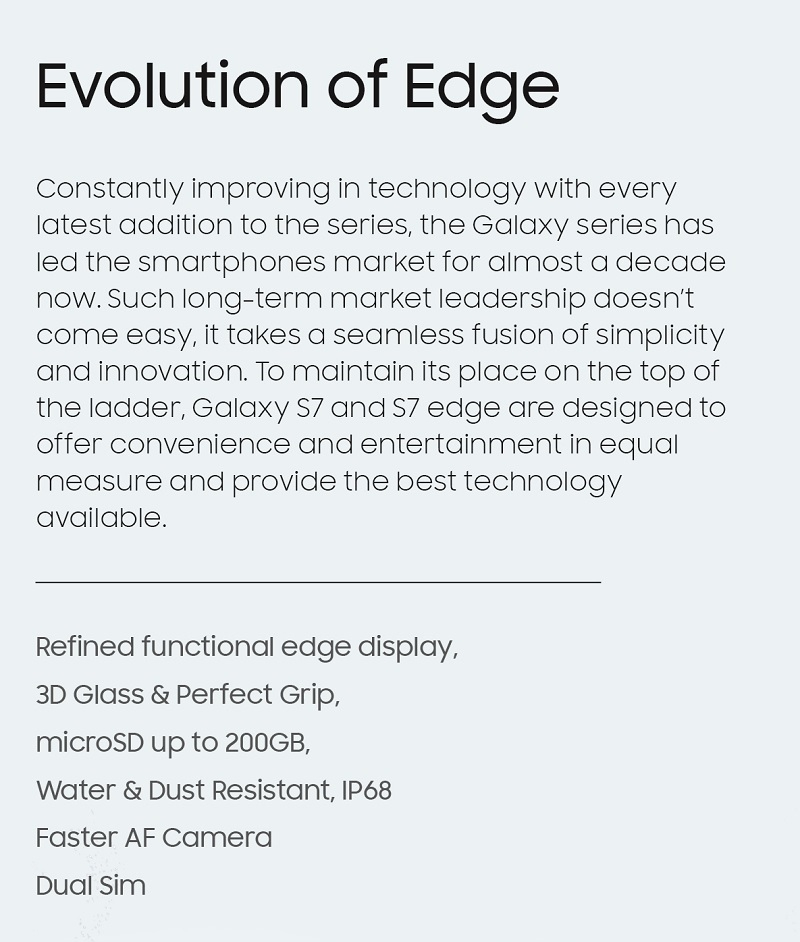 Evolution of Edge