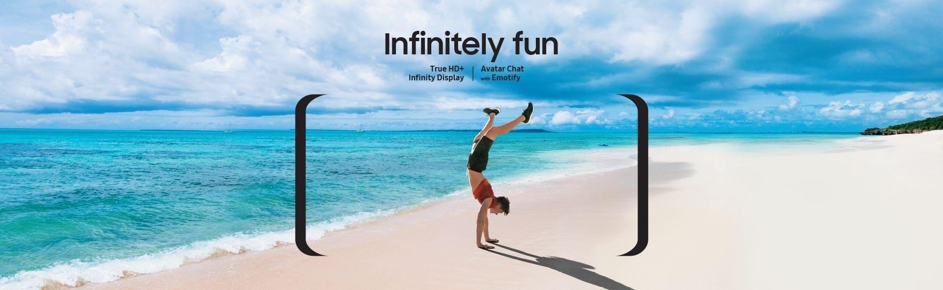 Infinitely Fun - Samsung Galaxy J4+