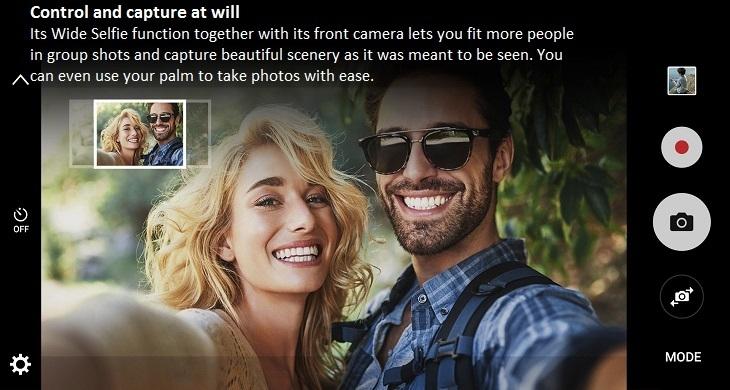 Samsung Galaxy J5 Prime on Jumia - Wide Selfie