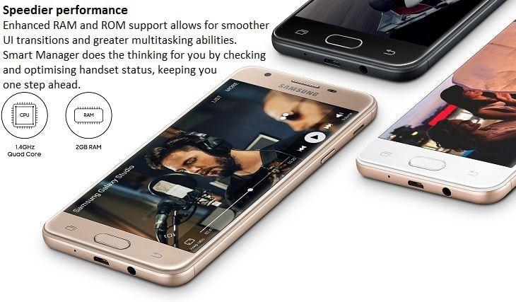 Samsung Galaxy J5 Prime on Jumia 2GB ROM
