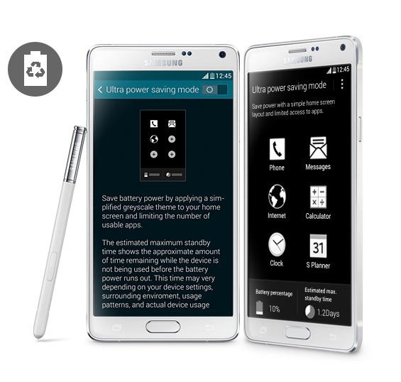 Samsung Note 4 tablet