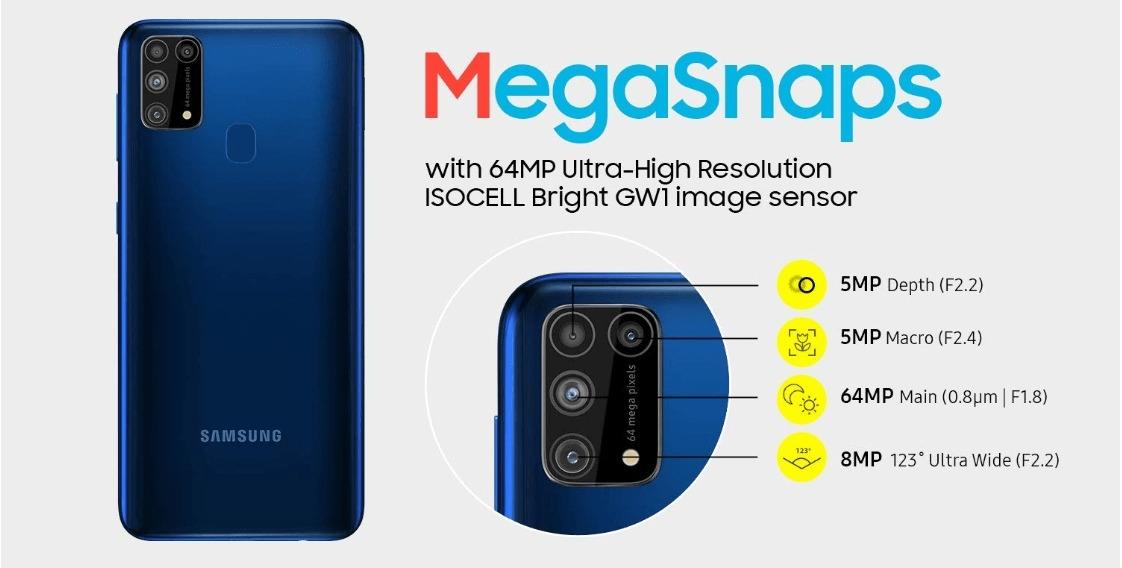 Samsung Galaxy M31 Camera