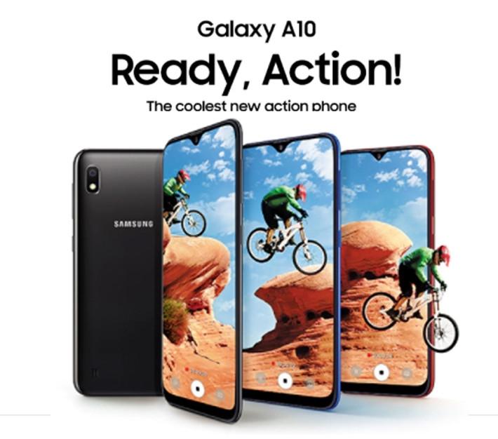 Samsung Galaxy A10 6 2-Inch (2GB RAM, 32GB ROM) Android 9 0