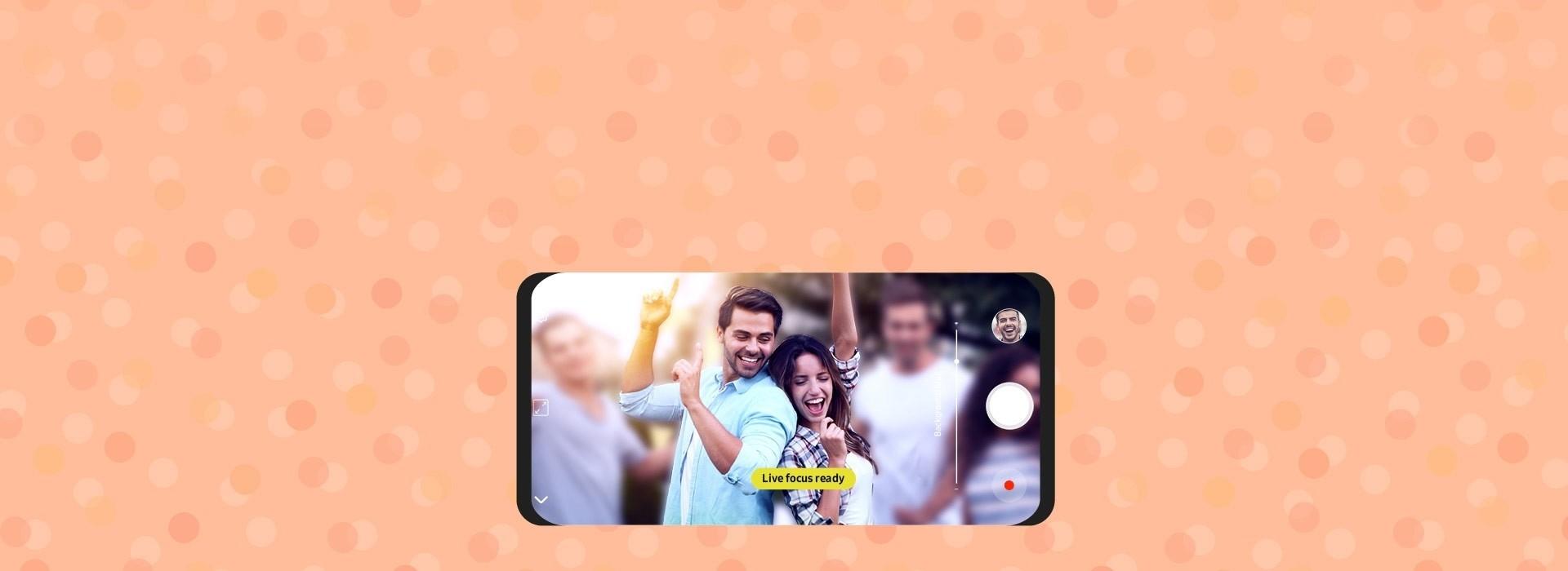 Live Focus Camera - Samsung Galaxy J6+