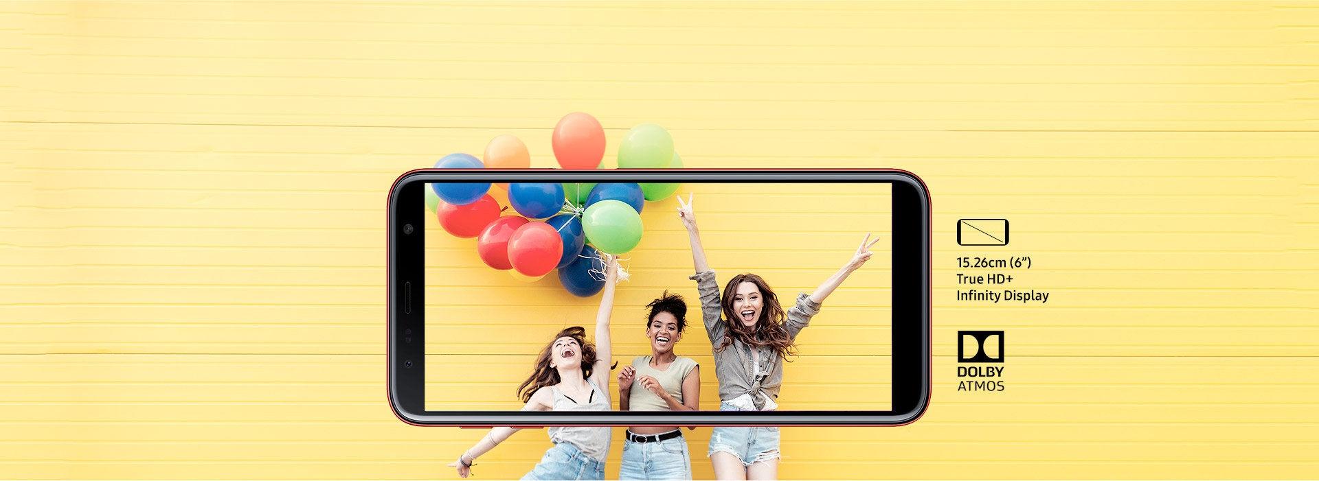 Infinity Display - Samsung Galaxy J6+