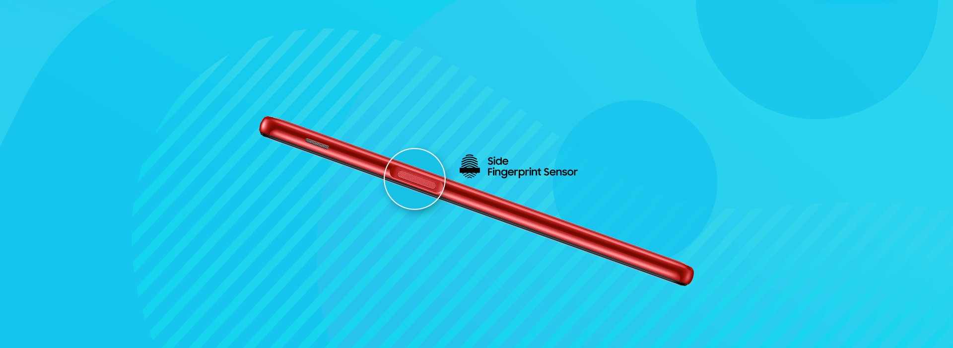 Side Finger Print Unlock - Samsung Galaxy J6+