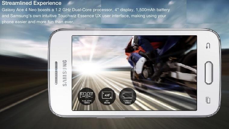 Samsung Galaxy Neo Ace 4