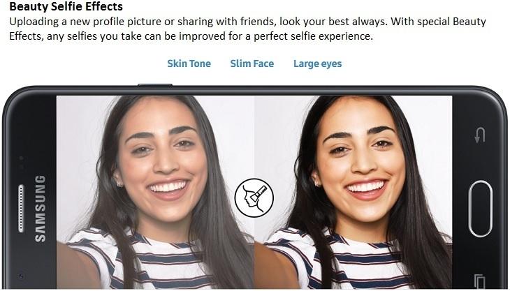 Samsung Galaxy J5 Prime on Jumia beauty selfie