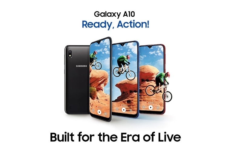 Samsung Galaxy A10 smartphone on jumia