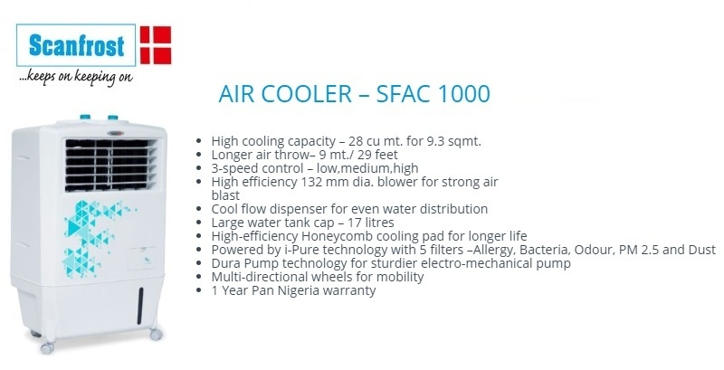 best affordable scanfrost air cooler in nigeria