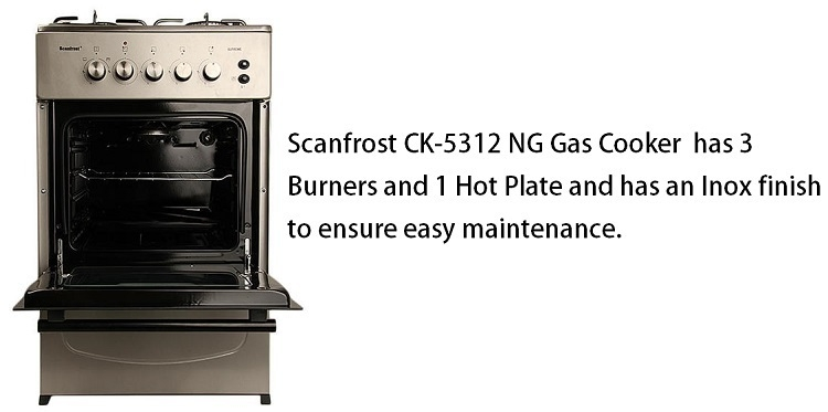 scanfrost gas cooker online