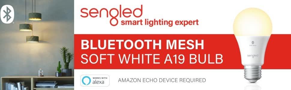 Sengled Bluetooth Soft White A19 Smart Bulb