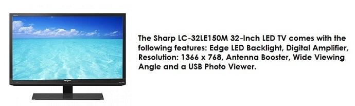 Sharp LED TV 2