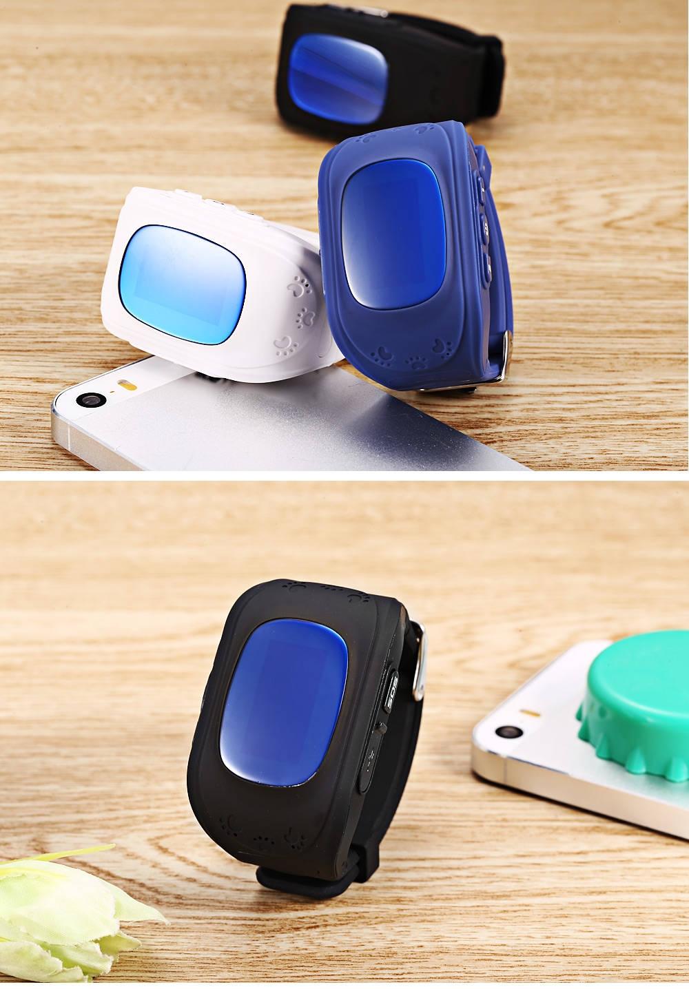 Smartwatch Q50 Kids Smart Watch With Gps Tracker Location Finder For Sim Card Black Intelligent Telephone Pedometer English Version