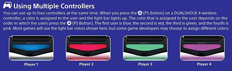 dualshock;ds4;ps4;playstation;colors;lights;multiplayer;uncharted;videogame;controller;gifts;online