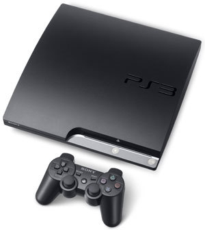 The PlayStation 3 120GB and included Dualshock 3 controller