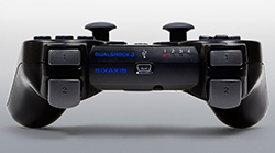 Dualshock 3 wireless controller back