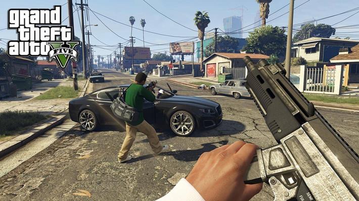 Grand theft auto latest game
