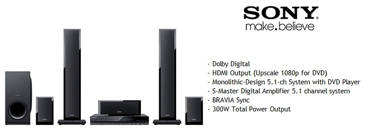 Sony DAV TZ150 5.1Ch System With DVD Player price in nigeria