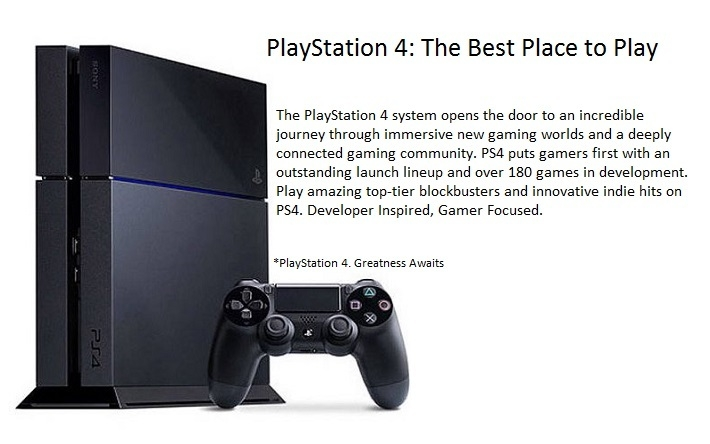 5d18d0a5f23 The PlayStation 4 system is smart enough to learn about your preferences