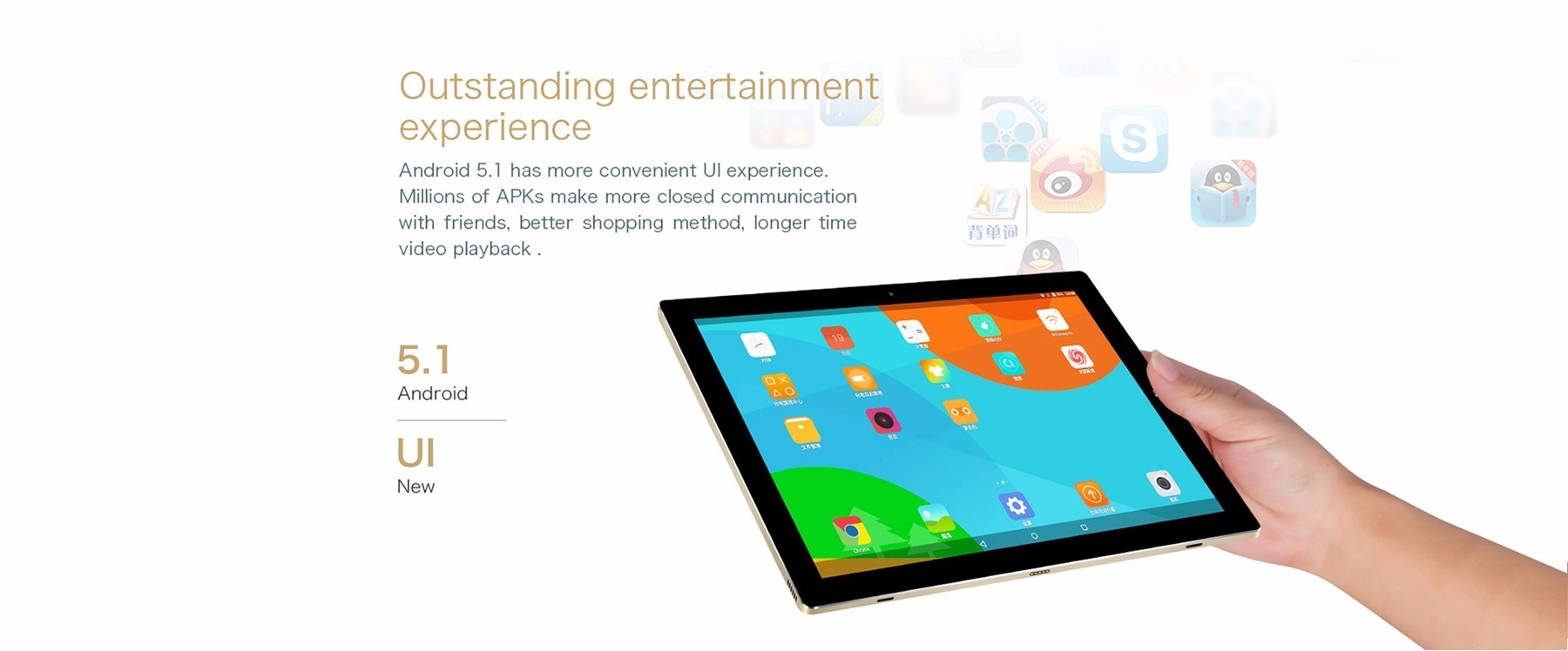 Teclast Tbook 10 S 2 in 1 Tablet PC 10.1 inch Windows 10 + Android 5.1 IPS Screen Intel Cherry Trail X5 Z8350 64bit Quad Core 1.44GHz 4GB RAM 64GB ROM Bluetooth 4.0