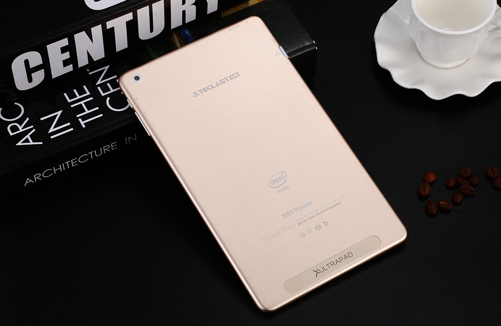 Teclast X80 Power Tablet PC Windows 10 + Android 5.1 8.0 inch IPS Screen Intel Cherry Trail Z8300 64bit Quad Core 1.44GHz 2GB RAM 32GB ROM Dual Cameras