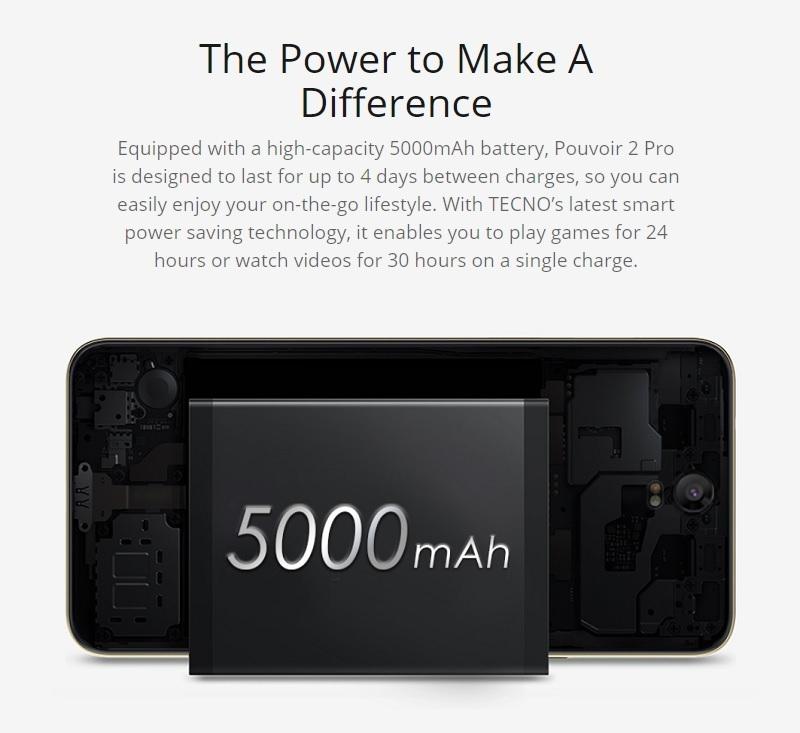 Pouvoir 2 Pro 5000mAh battery