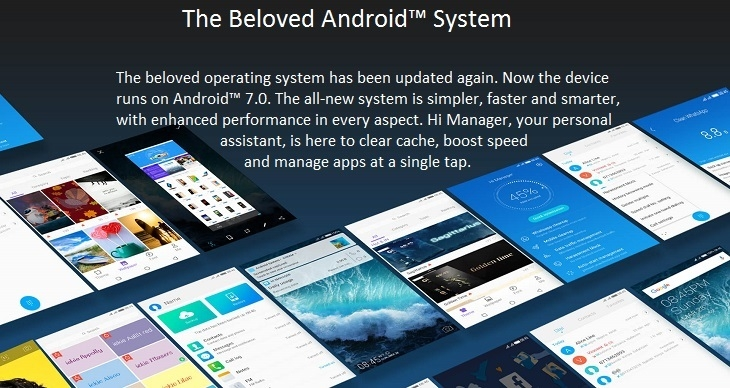 tecno wx3p android 7 nougat