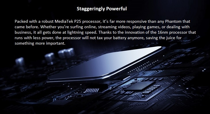 pHANTOM 8 MEDIATEK PROCESSOR