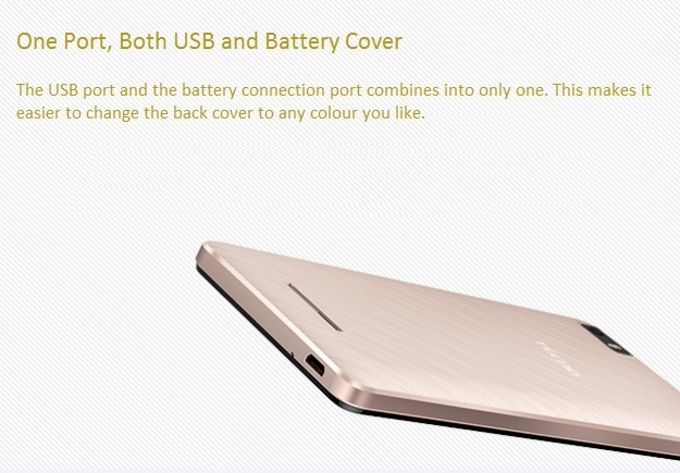 Tecno W3 - 8 GB - LTE - Gold