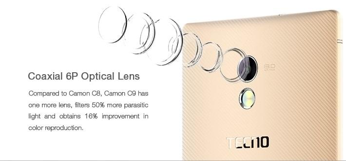 Camon C9 Camera Lens