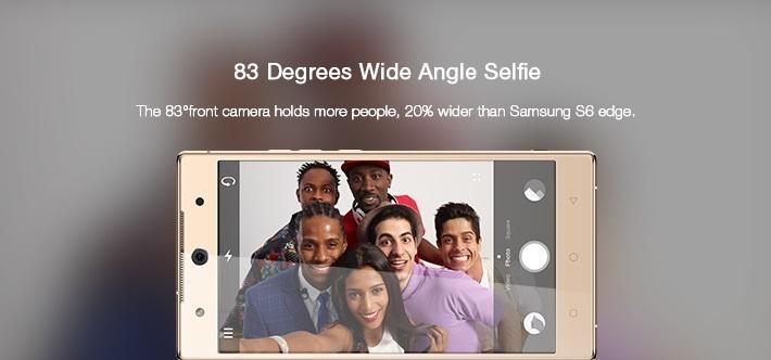 Camon C9 wide angle camera