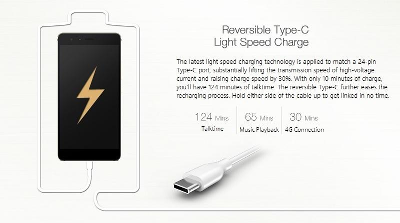 Tecno Phantom 6 Light Speed Charging