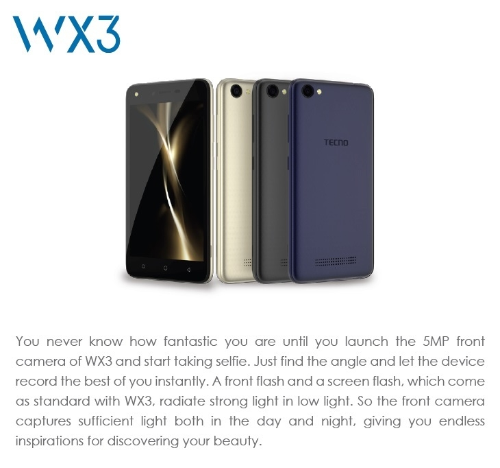 Tecno WX3 Lite on Jumia at the best price