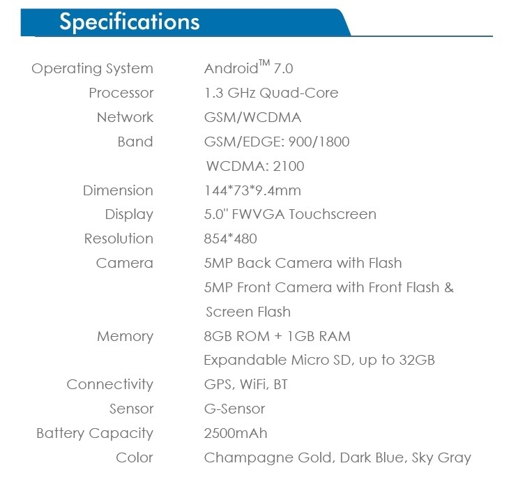 Tecno WX3 specs on Jumia