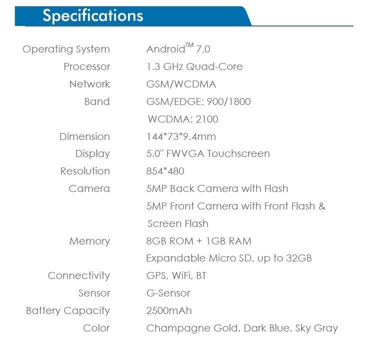 Tecno WX3 specs on Jumia