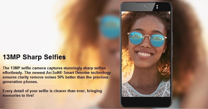 Tecno CX Air13MP selfies