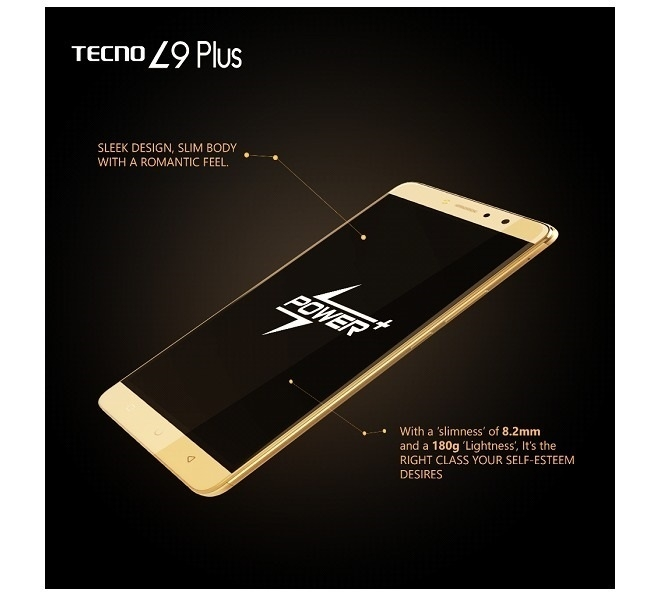 Tecno L9 Plus - Ram 2GB - Blue | 2B Egypt