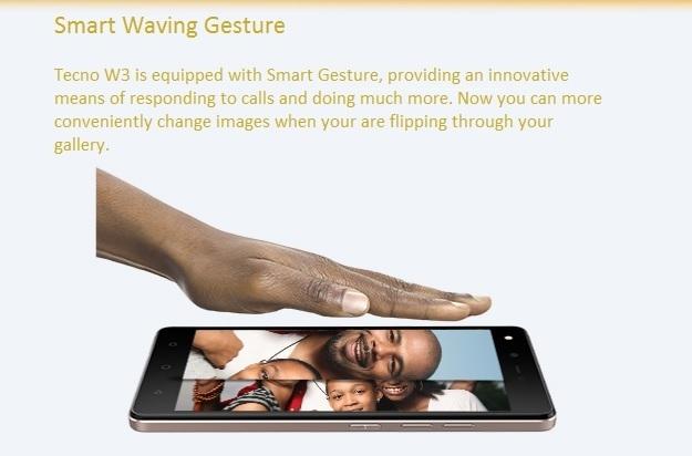 Tecno W3 smart wave